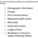 Key data measures are essential to addressing the risk and needs of jail populations and ensuring that local governments use jail space cost effectively.